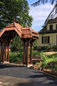 Portique du patrimoine du canton de Vaud